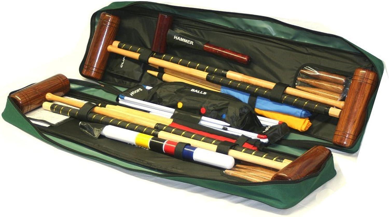 Garden Games  Townsend 4 Player Croquet Set in Tool KIT Bag
