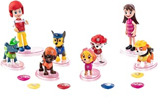22PCS Paw dogs patrol cake topper with Middle Size Cupcake topper mini Figurines Premium Party Favors for Kids Toddler Cartoon Action mini toys for Paw dog patrol party supplies