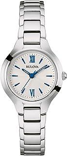 Bulova - Reloj Analógico para Mujer de Cuarzo con Correa en Acero Inoxidable 96L215