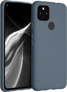 kwmobile telefoonhoesje compatibel met Google Pixel 4a 5G - Hoesje voor smartphone - Back cover in leigrijs