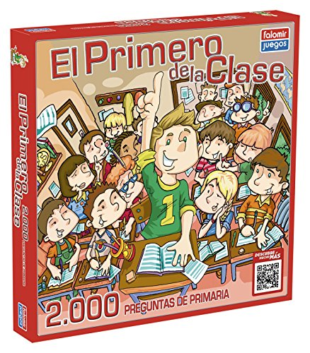 Falomir Juego de Mesa Educativo, 2000 Preguntas, multicolor,