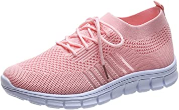 BingThL Chaussures de sport légères et respirantes pour femme, pour la marche, le sport, les loisirs, la course à pied, le...