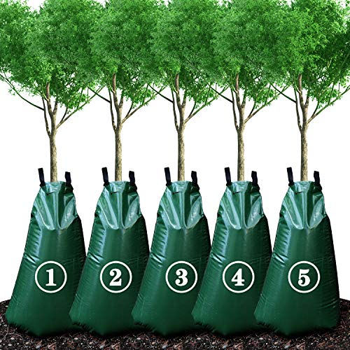 KONIGEEHRE 20 Gallon Tree Watering Bags, Reusable, Heavy Duty, Slow Release Water Bags for Trees, Premium PVC Tree Drip Irrigation Bags