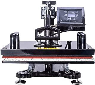 QWERTOUY Design 10 in 1 Combo Heat Press Machine,Sublimation/Heat Press,Heat Transfer Machine for Mug/Cap/T Shirt/Phone case