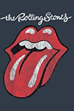 Kids Youth The Rolling Stones Script Tongue Logo Notebook: Journal, Lined Notebook, 120 Blank Pages, Journal, 6x9 Inches, ...