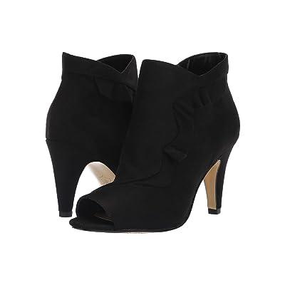 Bella-Vita Nicolette II (Black Super Suede) High Heels