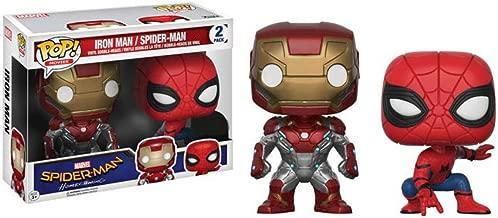 POP! Marvel: Spider-Man Homecoming 2-pack Iron Man & Spider-Man
