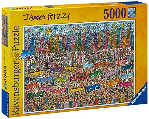 Ravensburger 17427 - James Rizzi, 5000 Teile Puzzle