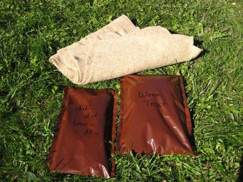 Nachfüll-Set für Wurmfarm/Wurmkomposter