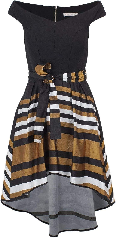 Rinascimento Women's CFC0088345003BLK Black Polyester Dress