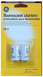 G E Lighting 64821 GE FS-5-C/TP Fluorescent Starter, 2-Pack