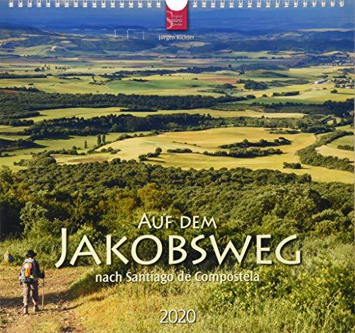 Preisvergleich Produktbild Auf dem Jakobsweg nach Santiago de Compostela: Original Stürtz-Kalender 2020 - Mittelformat-Kalender 33 x 31 cm