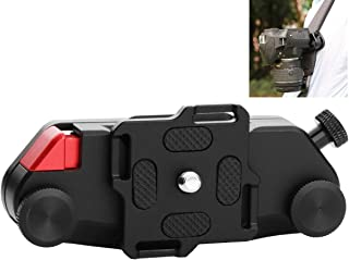 "AORO カメラキャプチャー カメラクリップ クイックリリース 1/4""ネジあり 一眼レフ カメラホルダー 簡単脱着"