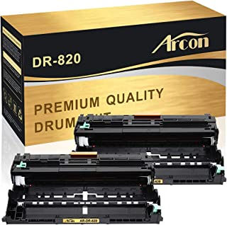 Arcon Compatible Drum Unit Replacement for Brother DR 820 DR820 DR-820 DR890 DR-890 Brother HL-L6200DW HL-L5000D HL-L5100DN HL-L5200DW MFC-L5900DW MFC-L5800DW MFC-L5850DW MFC-L6800DW Printer(2 Packs)