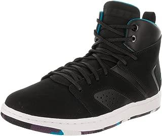 Nike Men's Air Jordan Flight Legend Black/Blue Lacquer-White AA2526-005 Shoe