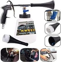 KOBWA Car Cleaning Gun, Car Interior Washing Gun Air Pulse Equipment High Pressure with Cleaning Nozzle Sprayer Foam Bottle Surface Interior Exterior Tornado Tool