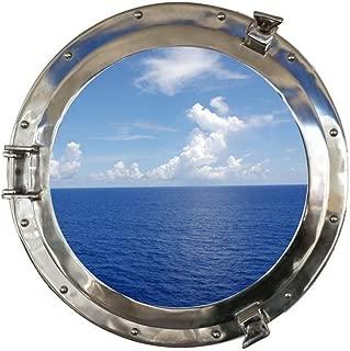 Hampton Nautical MC-1965-20 CH - W Chrome Ship Porthole Window 20