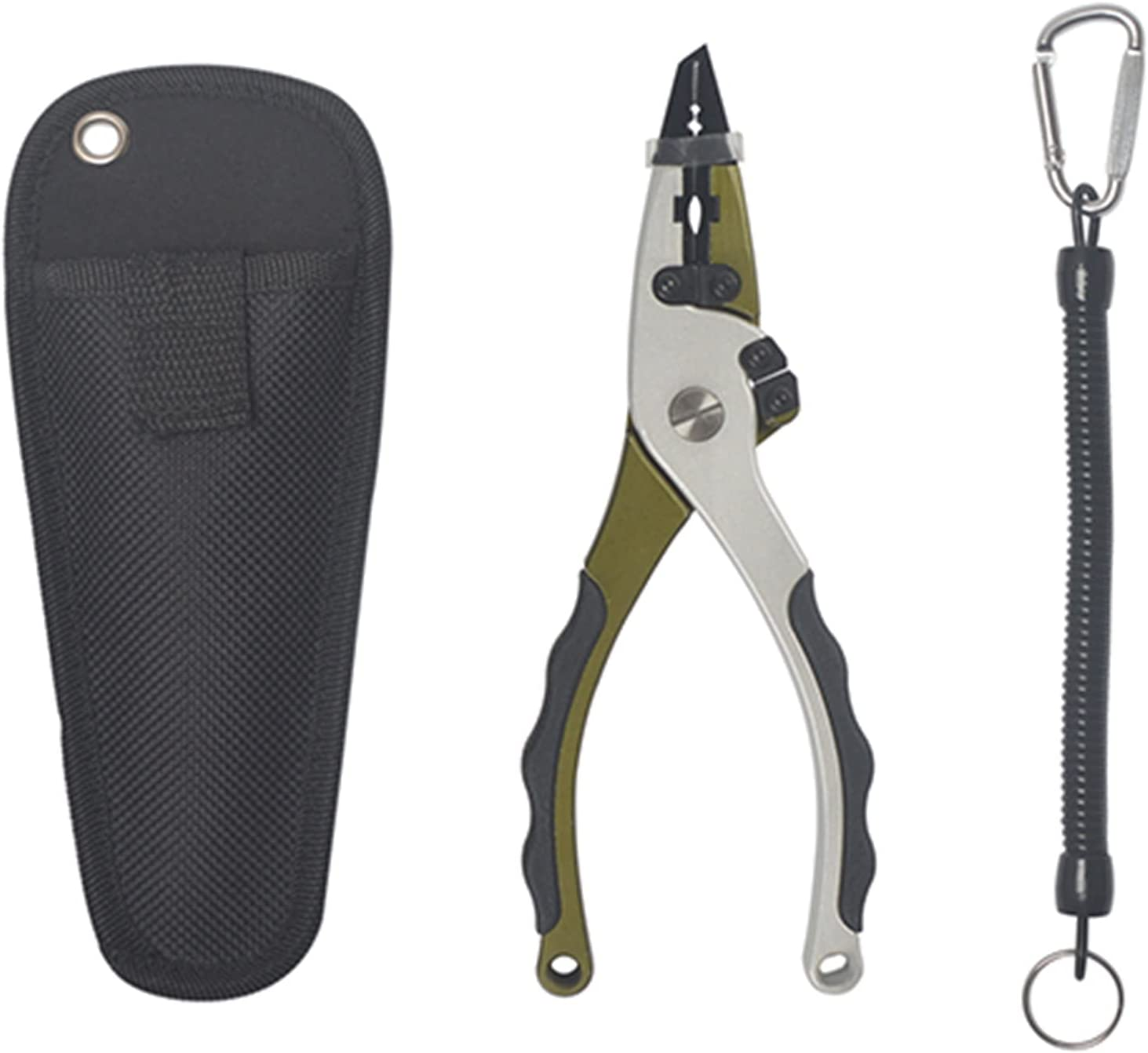 New Two Tungsten Steel Pliers Aluminium Max 79% OFF Max 79% OFF Fishing Cutters