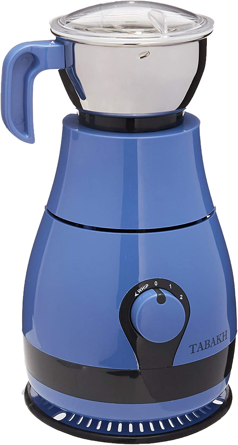 Tabakh Prime Indian Mixer Grinder   600 Watts   110-Volts