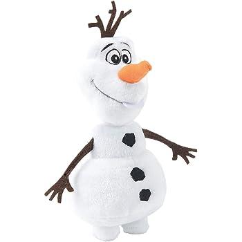 Simba Olaf Muñeco de Nieve Felpa Negro, Marrón, Naranja, Color ...