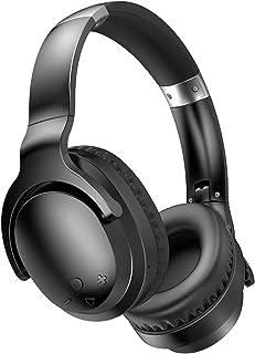 Shubiao Bluetooth-hörlurar över örat trådlösa Bluetooth-hörlurar aktiv brusreducerande djup bas bekväma öronkoppar för mob...