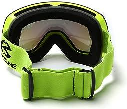 SPOSUNE HX021 Anti-Fog Ski Glasses Breathable Snowboard Motocross Goggles Double Layers Elastic Men Women Glasses