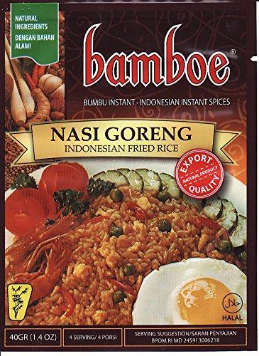 Bumbu Nasi Goreng Indonesian riso fritto spezie, 40 grammo (pacchetto di 3)