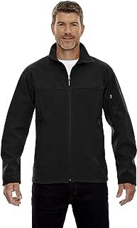 Men's 3-Layer Fleece Bonded Soft Shell Jacket, 3XL, BLACK 703