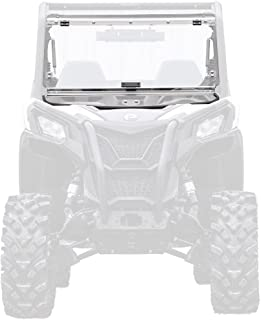 SuperATV Scratch Resistant Flip Windshield for Can-Am Maverick Trail 800/1000 (2018) - Easy to Install!