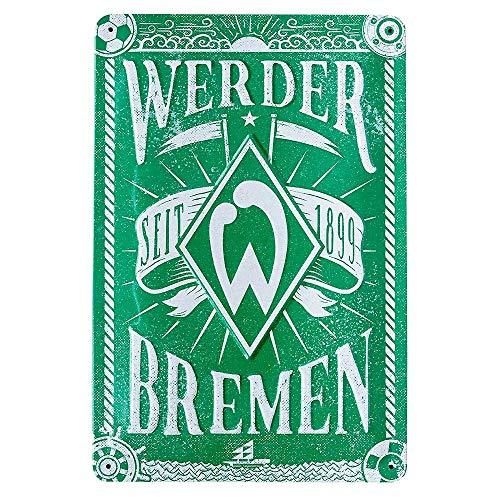 Werder Bremen SV Blechschild, Schild Raute, 21-50101