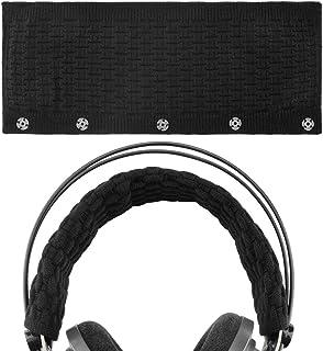 ヘッドフォン用ヘッドバンド Bose AKG Sennheiser Sony Beats Audio-Technica等大型のヘッドホン用(ブラック)