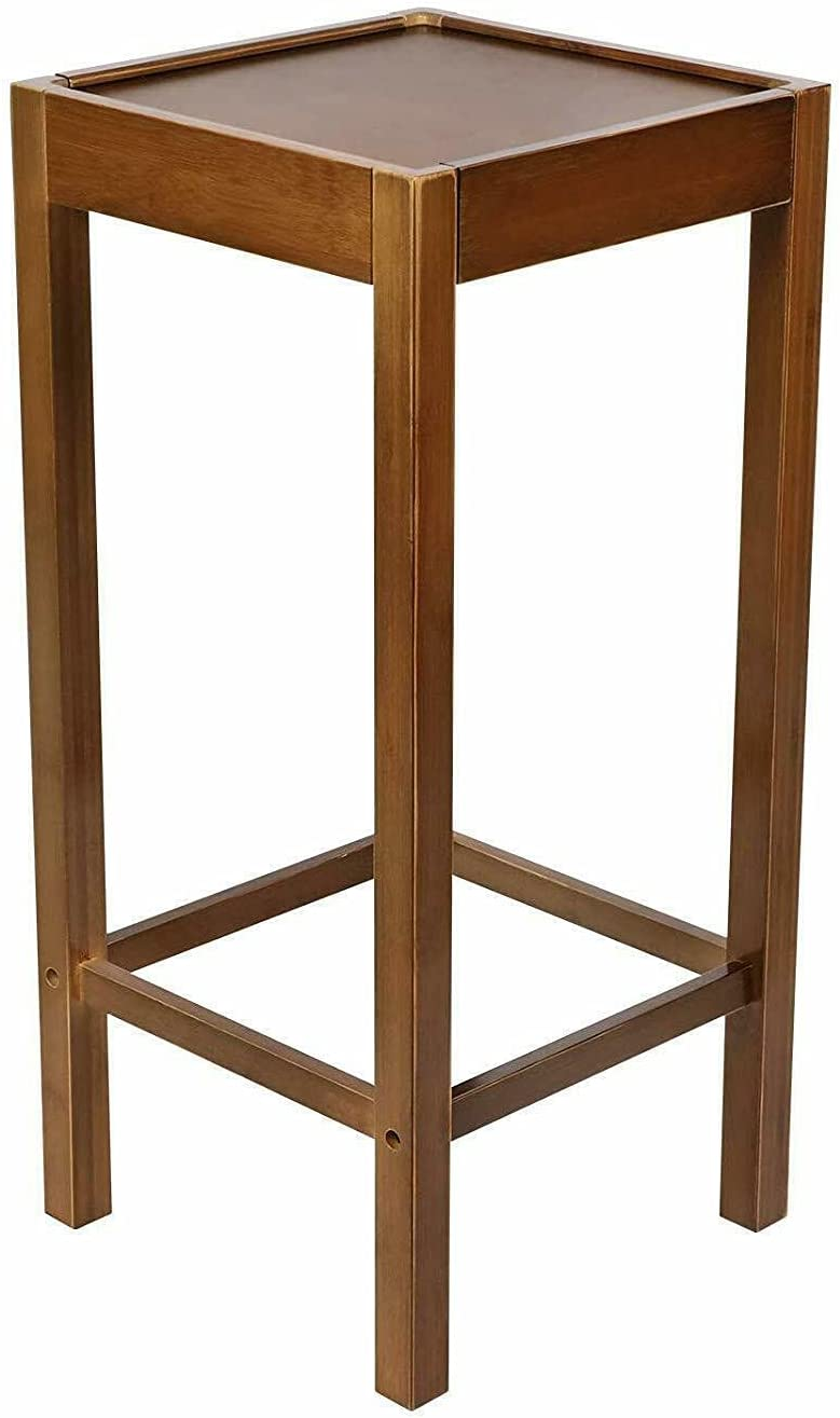 Wooden Very popular Tall Plant Stand Pot Holder Table Small Max 72% OFF Farmhouse Space D