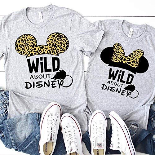 Disney Matching Family T-Shirts Animal Kingdom Unisex Kids Baby Adult Couples Shirts