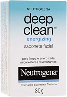Sabonete Facial Deep Clean Energizing, Neutrogena, 80g