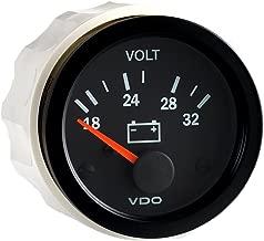 VDO 332 104 Voltmeter Gauge