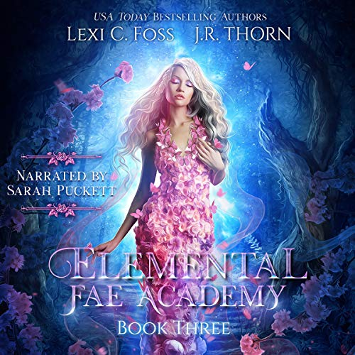 Elemental Fae Academy, Book Three cover art