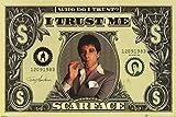Scarface - Poster Dollar Bill