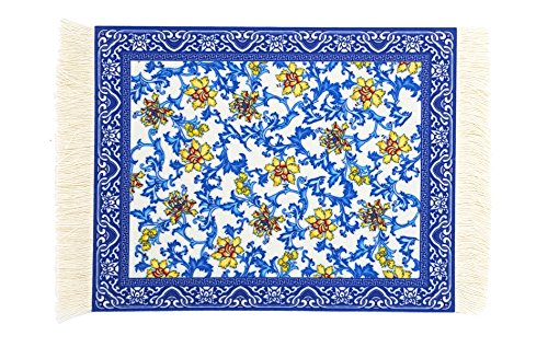 Persian Rug Mat Mousepad Retro Style SUPCOW Carpet Pattern Mouse Pad