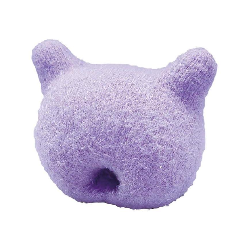 固体水平にやにやふかふか手のまくら(猫型)