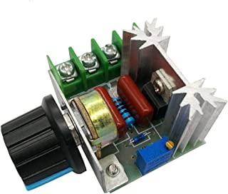 Sponsored Ad - HiLetgo 2000W PWM AC Motor Speed Control Module Dimmer Speed Regulator 50-220V Adjustable Voltage Regulator