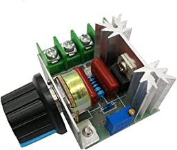 HiLetgo 2000W PWM AC Motor Speed Control Module Dimmer Speed Regulator 50-220V Adjustable Voltage Regulator