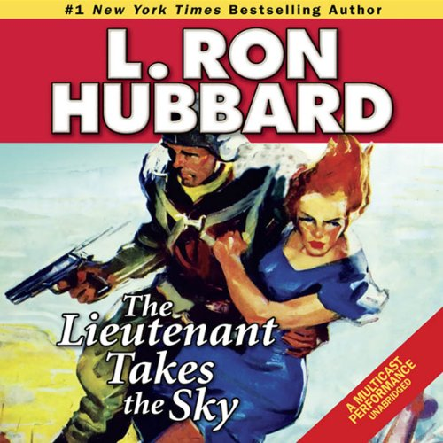 The Lieutenant Takes the Sky audiobook cover art