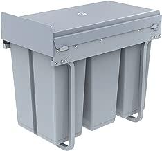 1home Basura del Aparador de la Cocina de Reciclar la Extracción (30 litros)