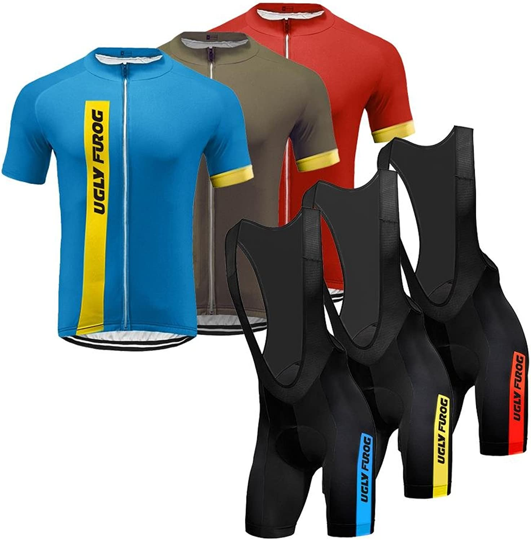 Uglyfrog Cycling Jersey 2018 New Men's Summer Outdoor Sports Fashion Short Sleeve Cycling Jerseys Bike Shirts Bicycle Tops SWJ09