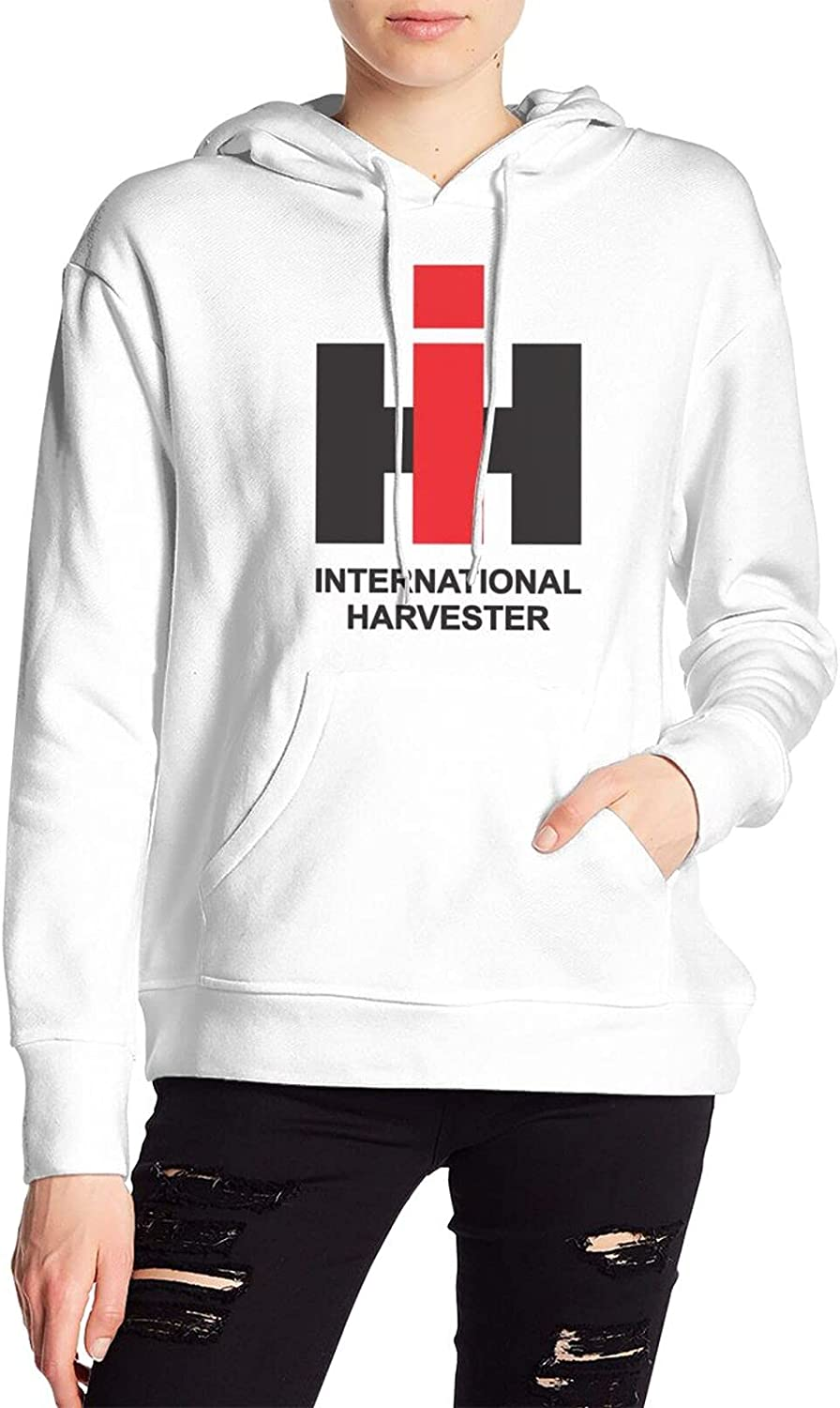 Ih International Harvester Sweater Fashion Hoody With Pocket For Mens Women