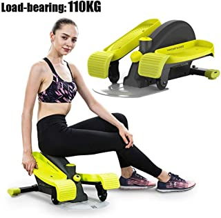 Personal Care Health Elliptical Training Machines Aerobic Spiral Portable Stepper for Home Use for Full Body Workout Space...