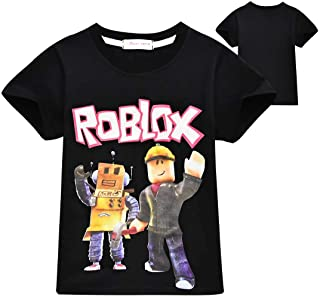 HERSE Kids Boys Girls Unisex T-Shirt Roblox Tops Shirt Tee