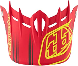 Troy Lee Designs Adult D2 Visor Fusion BMX Helmet Accessories - Red/One Size