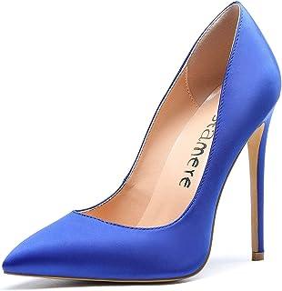 Castamere Scarpe col Tacco Donna Stiletto Tacco Alto Nozze Festa Sexy Eleganti Scarpe 12CM High Heels