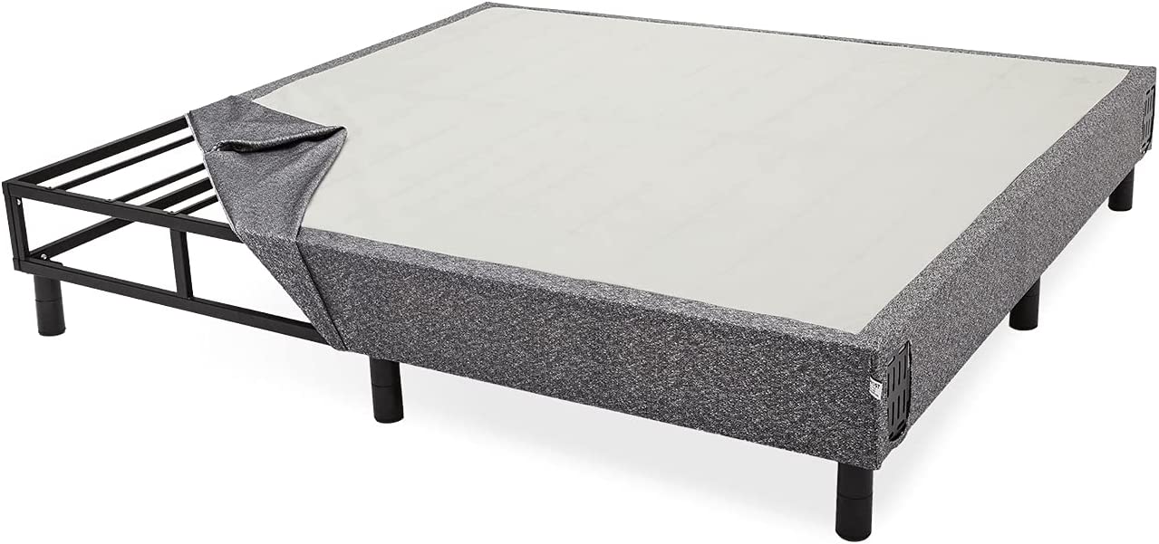 GhostBed 9 Inch Mattress Foundation Box Metal Max 63% OFF Special price - One in Spring